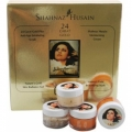 SHAHNAZ HUSSAIN 24 CARAT GOLD SKIN RADIANCE KIT (SET of 4)